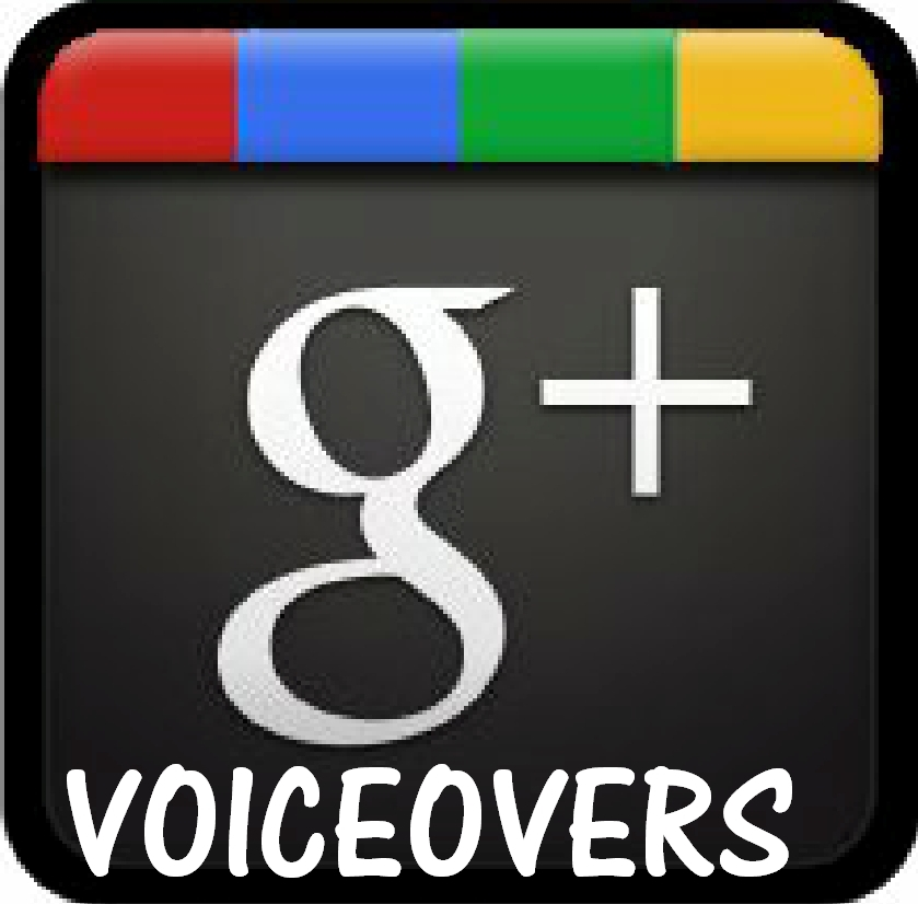 G+ VoiceOvers